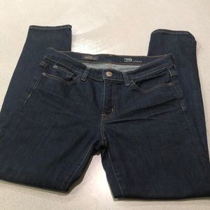 J Crew Toothpick Jeans - ankle length 29